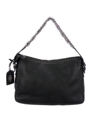Fendi Selleria Chain-Link Bag None