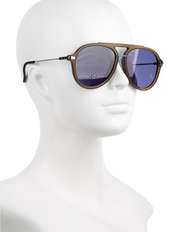 Resin Aviator Sunglasses w/ Tags