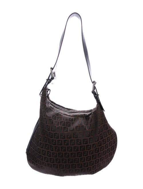 4e09aaecd267 Fendi Zucca Oyster Bag - Handbags - FEN73332