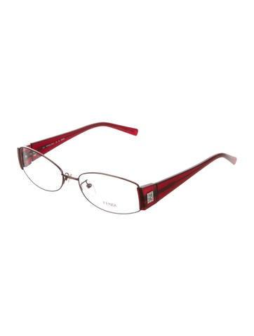 Embellished Rimless Eyeglasses