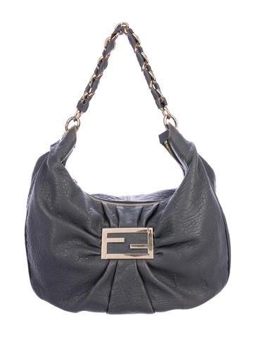 Fendi Leather Mia Hobo None