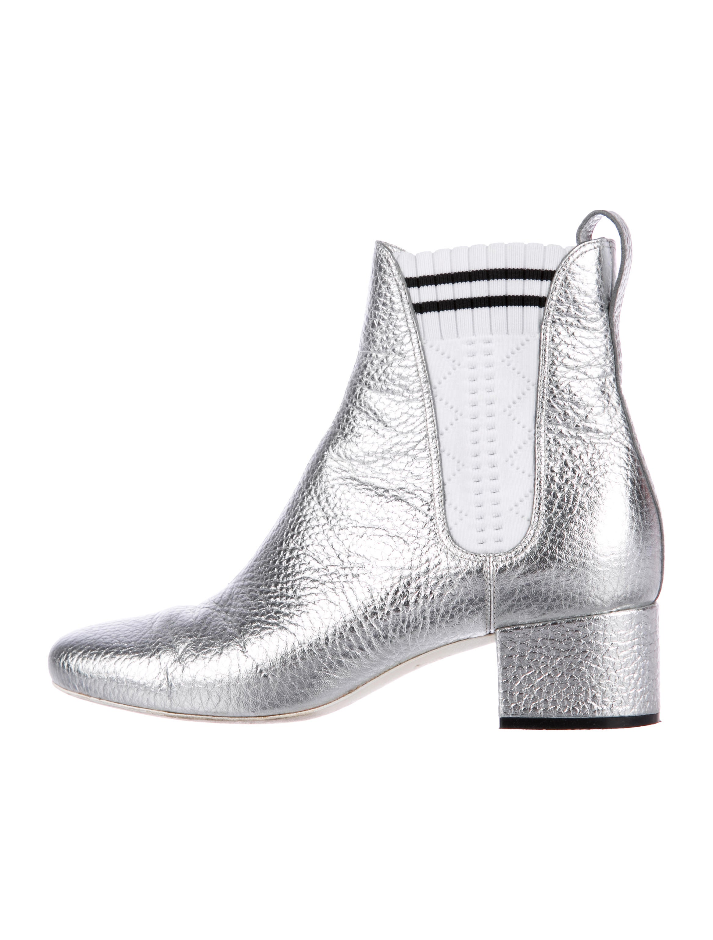 cheap price Fendi 2017 Metallic Ankle Boots buy online with paypal professional cheap price cheap classic cUnWk2fU