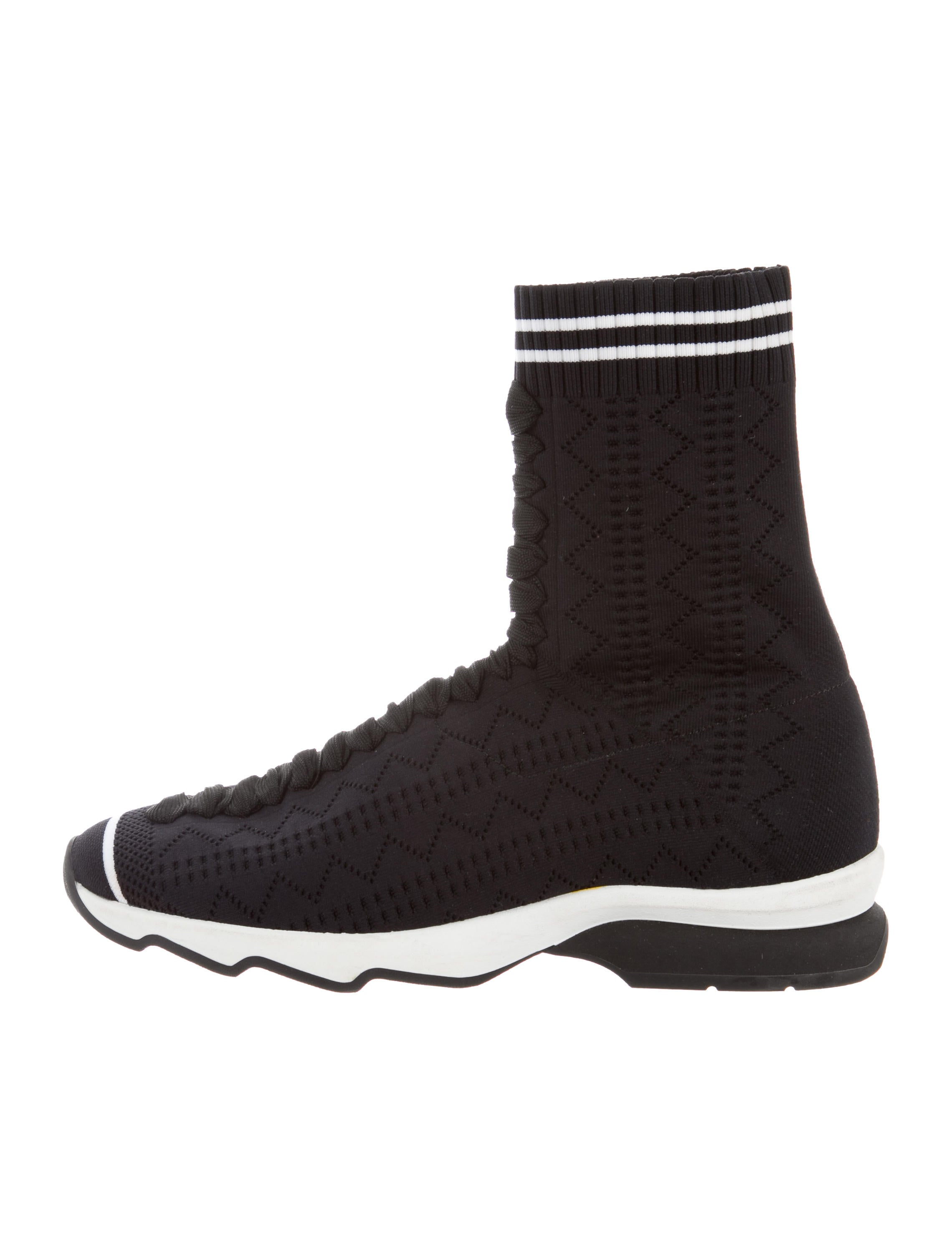 free shipping collections wiki online Fendi Perforated Sock Sneakers Red pre order eastbay quality free shipping outlet LLDtDel