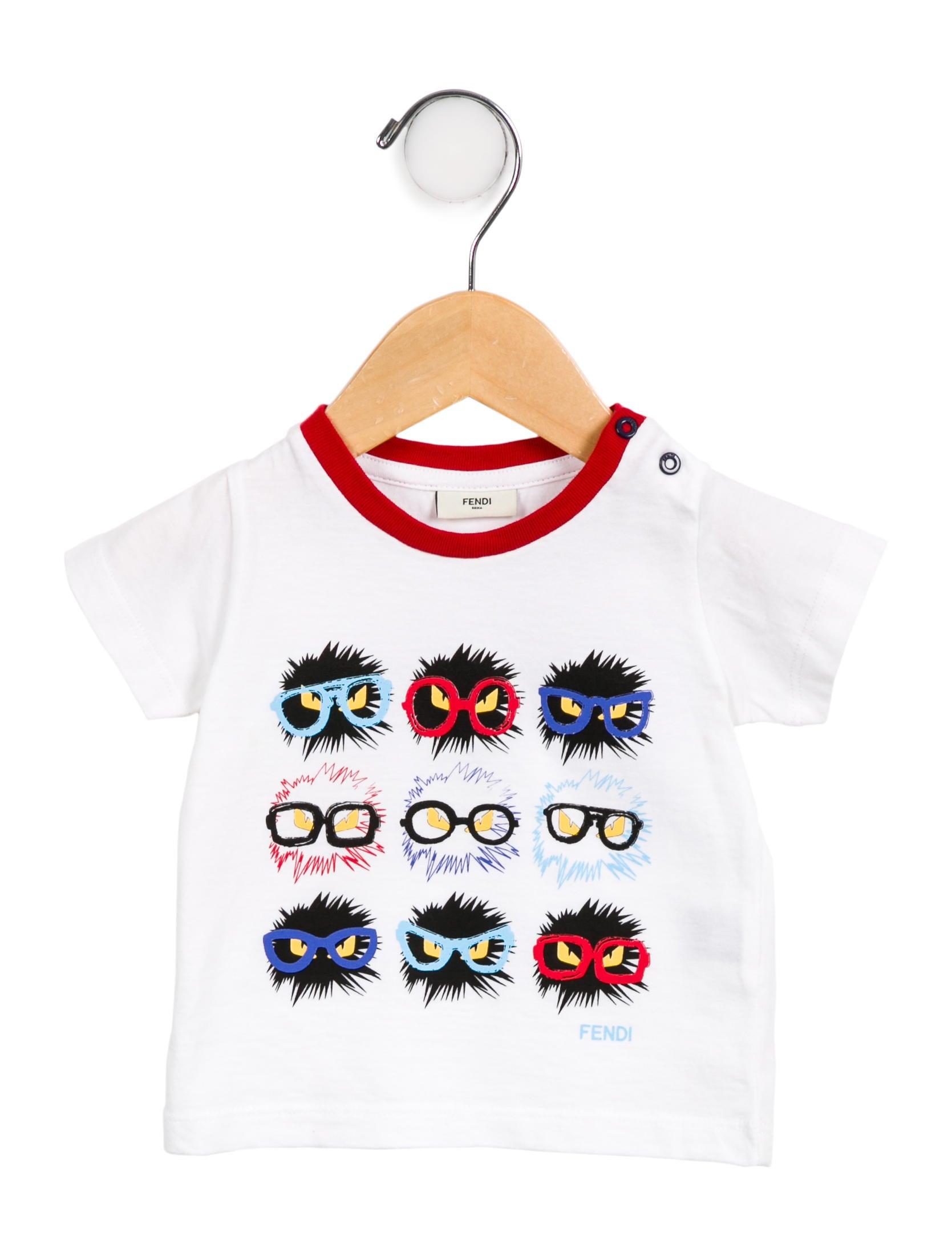 392a44cc678a Fendi Boys  Graphic Monster T-Shirt - Boys - FEN76645