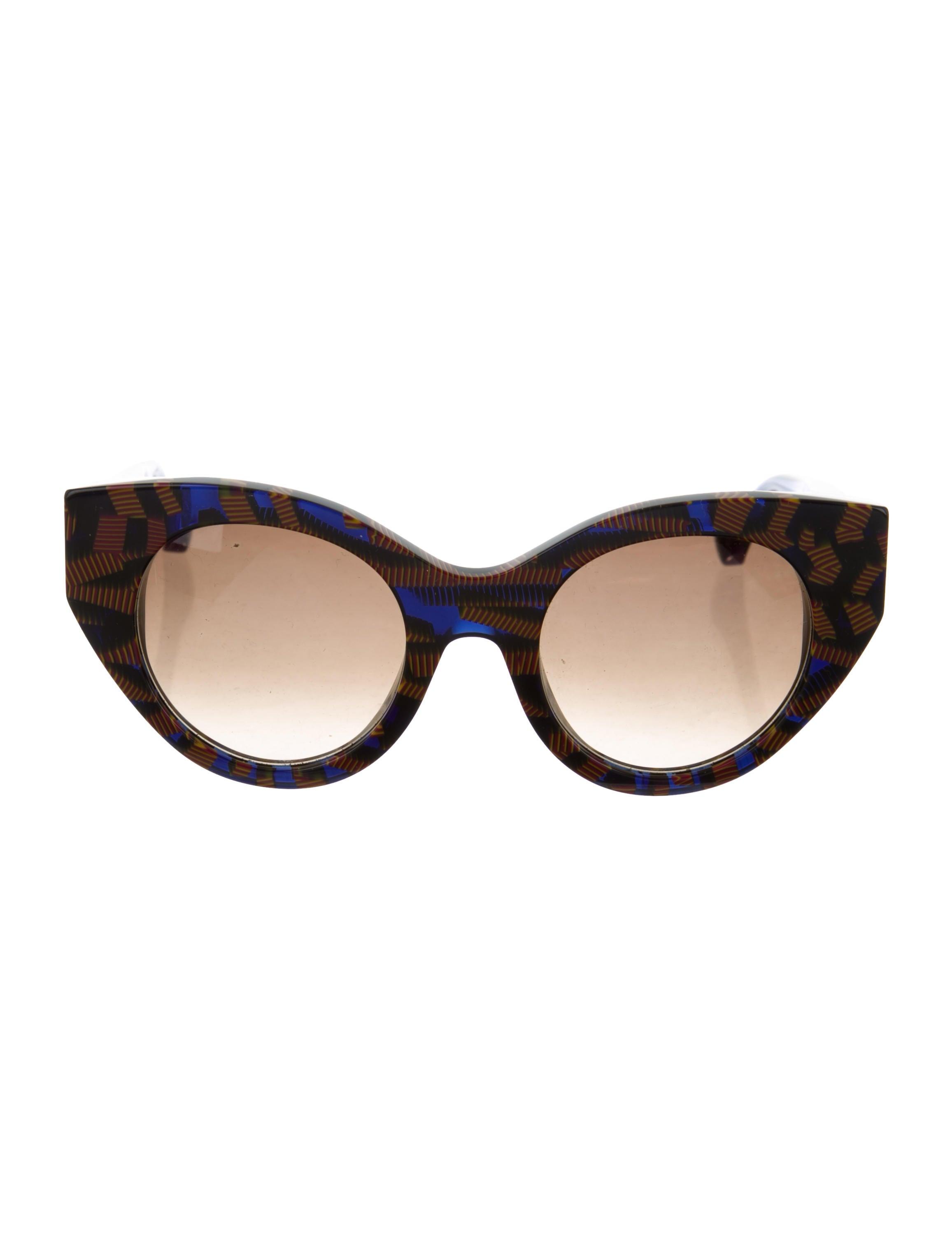 2a727bff1d374 Fendi Fanny Cat-Eye Sunglasses - Accessories - FEN80828