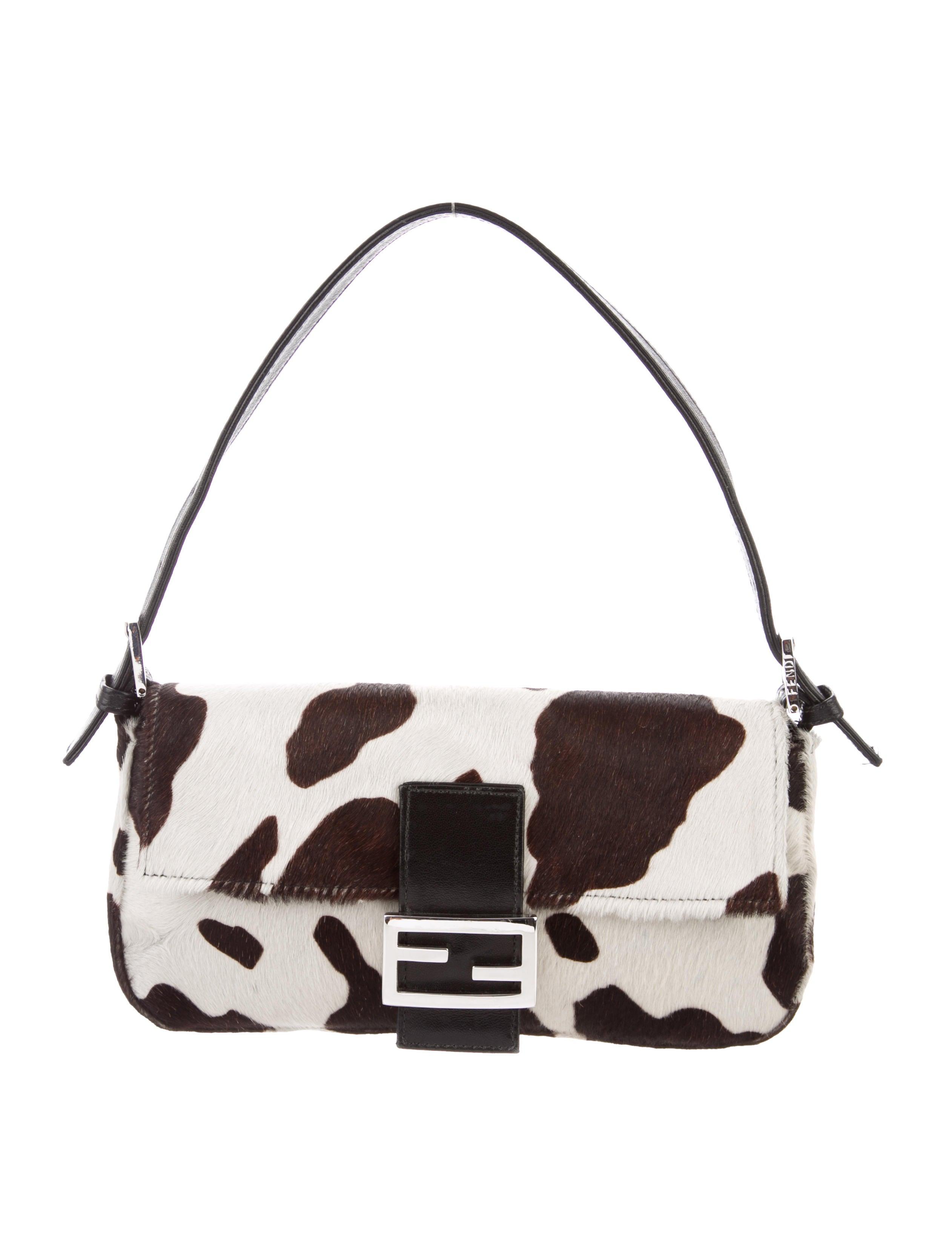 7ab7993dec2 Animal Fendi Fendi Ponyhair Baguette Animal Print HEpw5wYq in ...