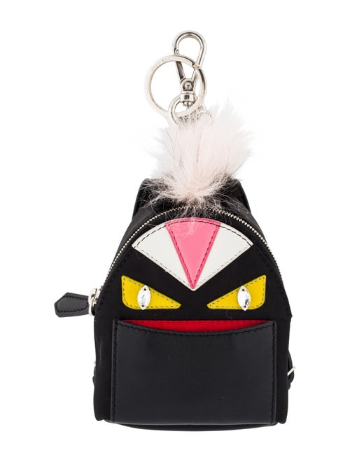 ac0022089b15 Fendi Micro Monster Backpack Charm w  Tags - Accessories - FEN83421 ...