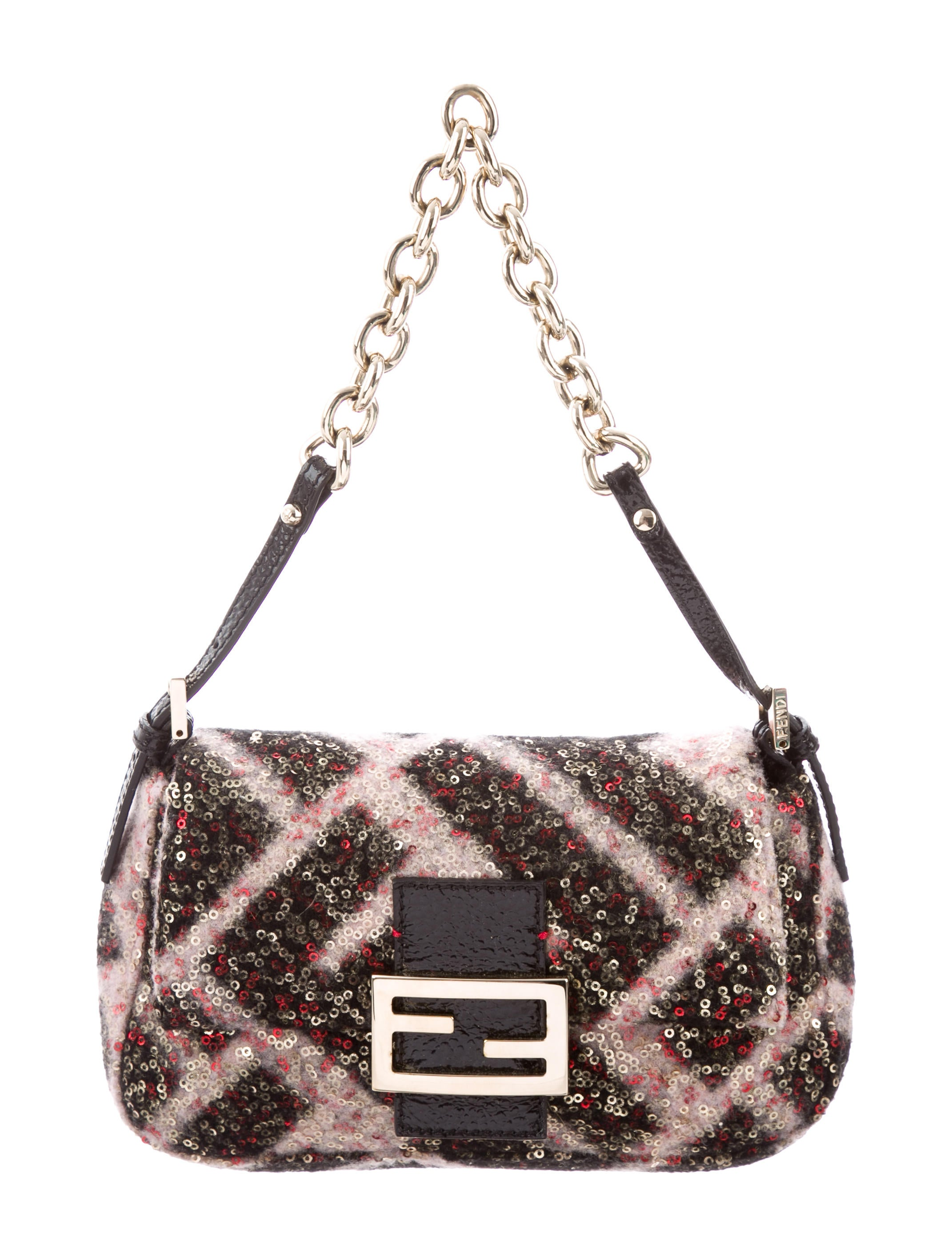 07d76542b406 Fendi Mini Sequin Mama Forever Bag - Handbags - FEN83672
