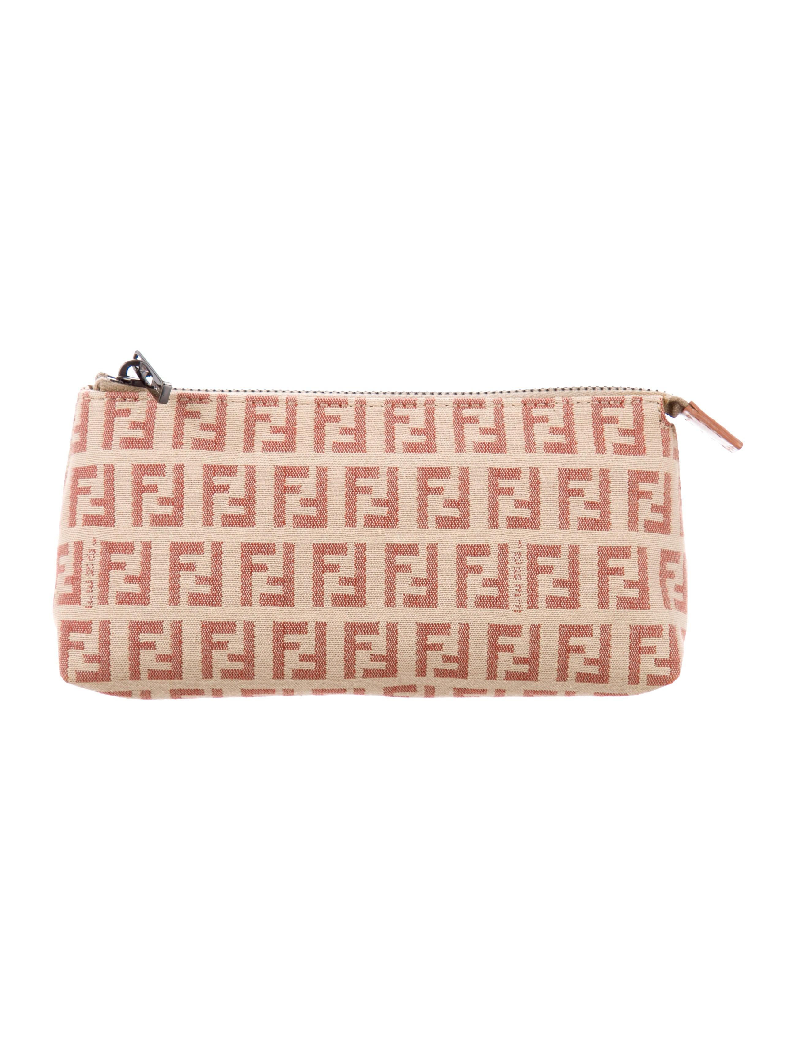 Fendi Zucchino Cosmetic Bag - Accessories - FEN83733  7c7ab4ccd99ae