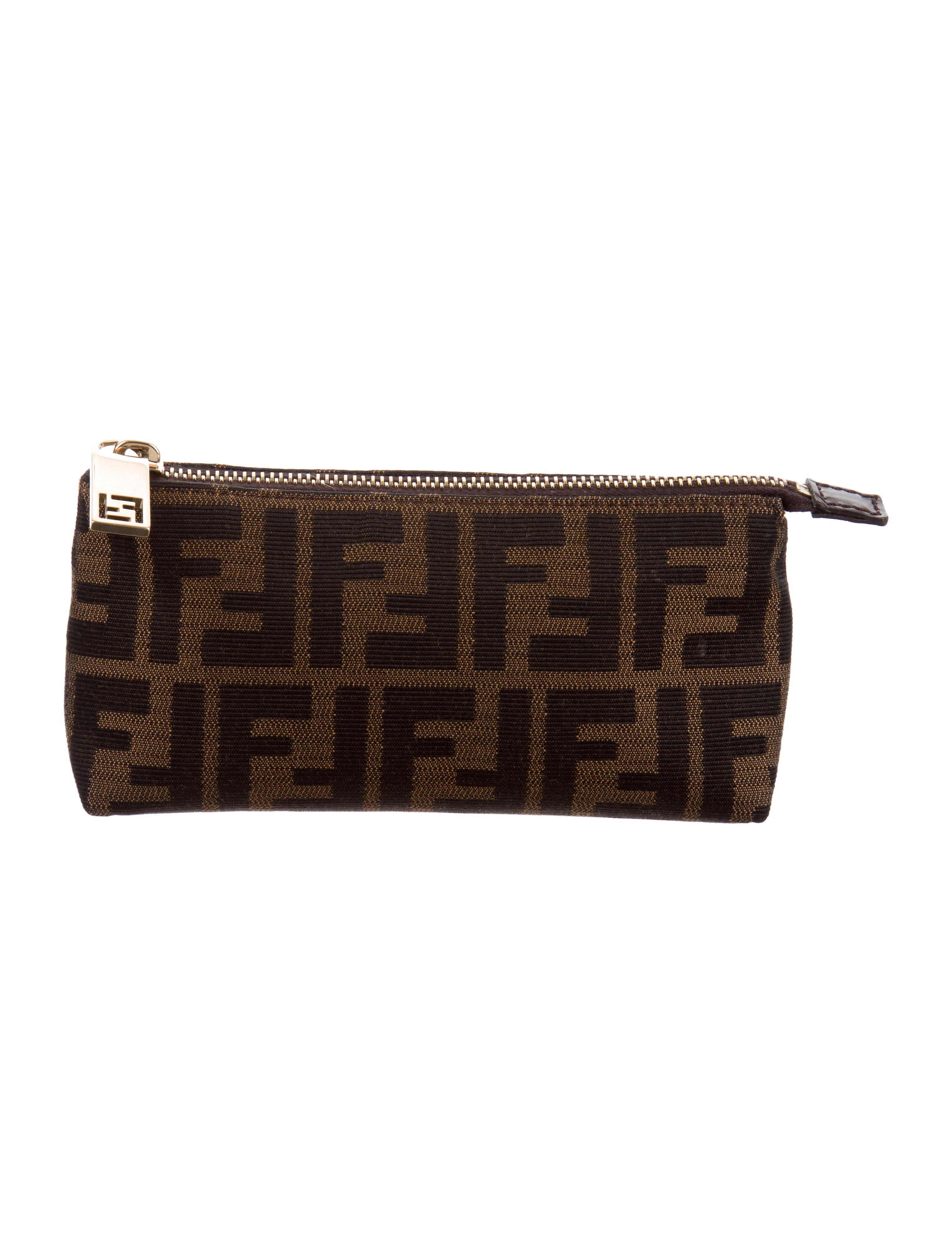 95969d4f2 Fendi Zucca Cosmetic Pouch - Accessories - FEN86222 | The RealReal