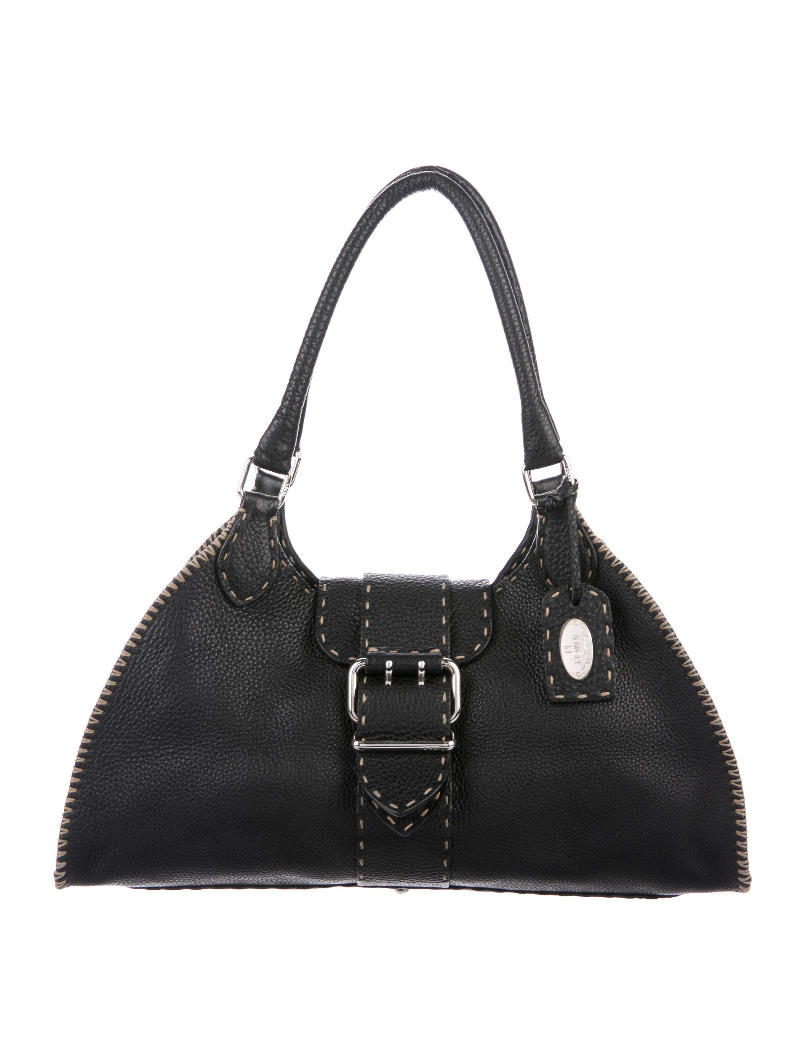 29fed8530d7e Fendi Selleria Sporty Bag - Handbags - FEN86928