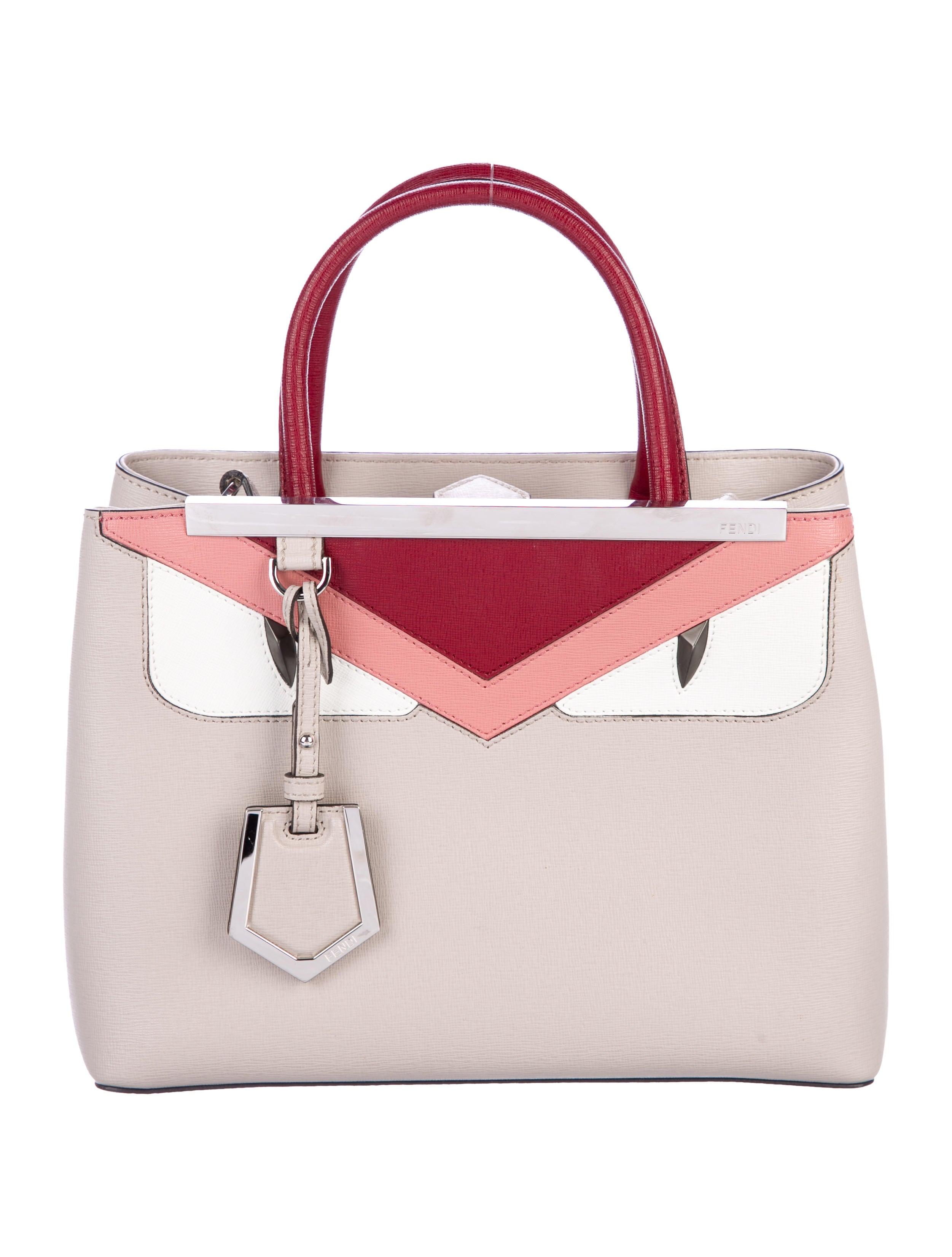 2a170ada47b3 Fendi Petite 2Jours Monster Satchel - Handbags - FEN86958