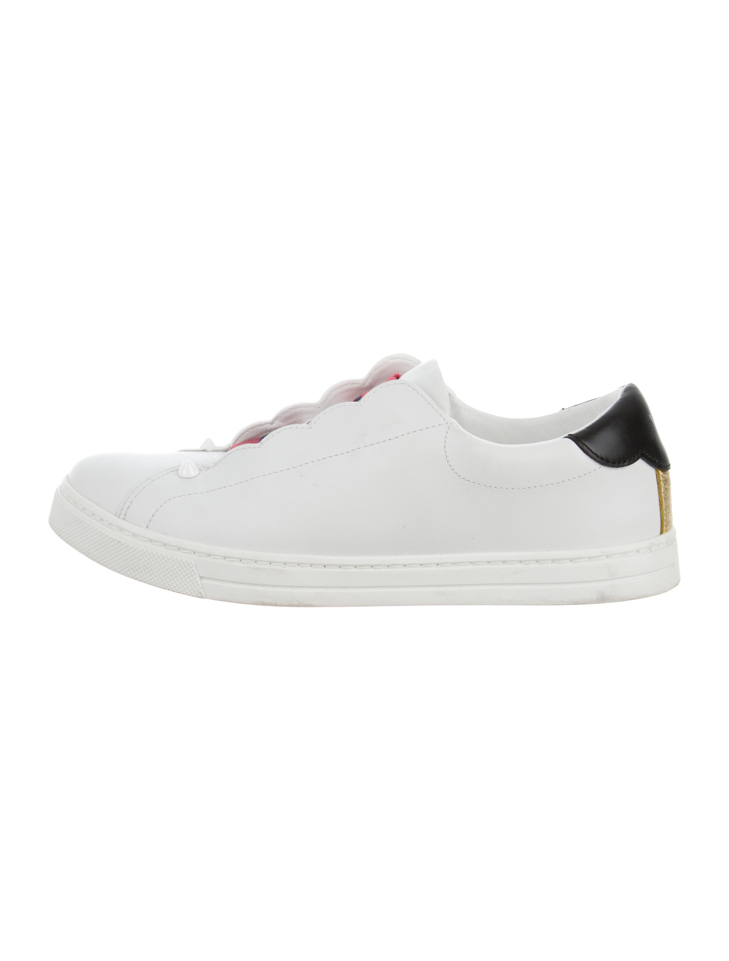 Scalloped Skate Sneakers - Shoes