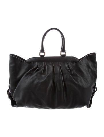 5c2037ef6c50 Fendi. Textured Leather Tote
