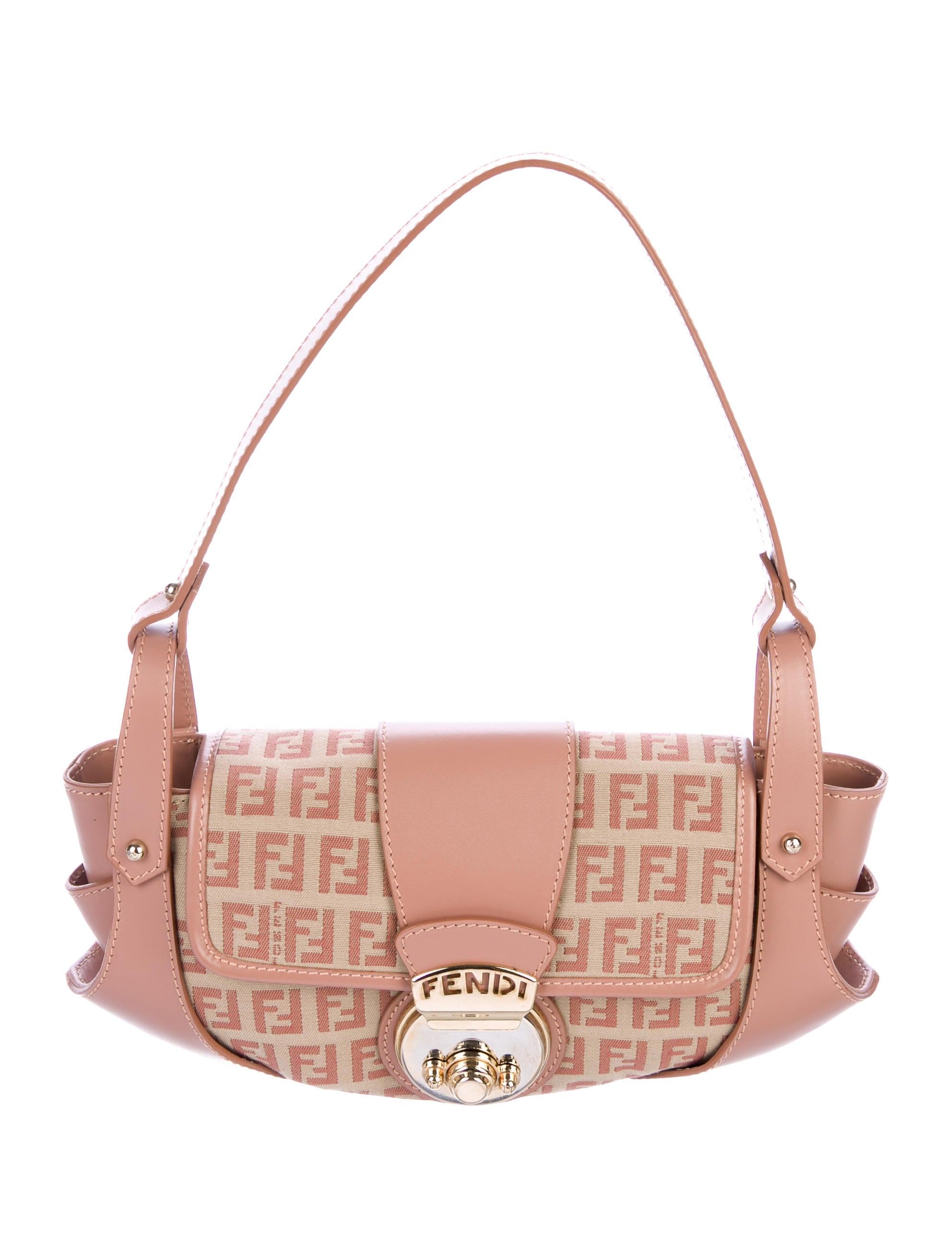 9dc7e1269393 Fendi Zucchino Compilation Bag - Handbags - FEN88964