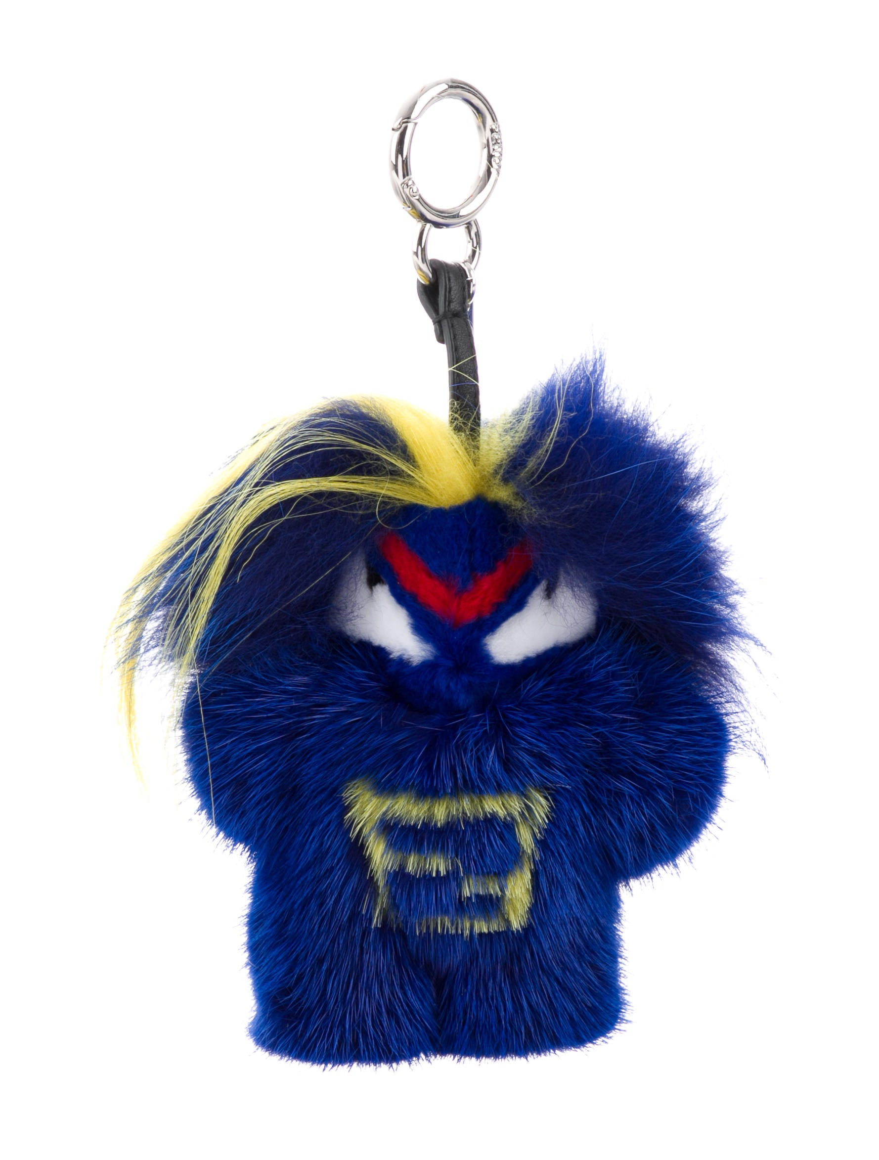 5d49590e75 Fendi 2017 Mink Fur Fendirumi Bug-Kun Monster Bag Charm w  Tags ...
