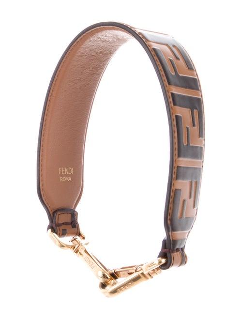 b8b7d06e7f736 Fendi Zucca Mini Strap You Shoulder Strap - Accessories - FEN92263 ...