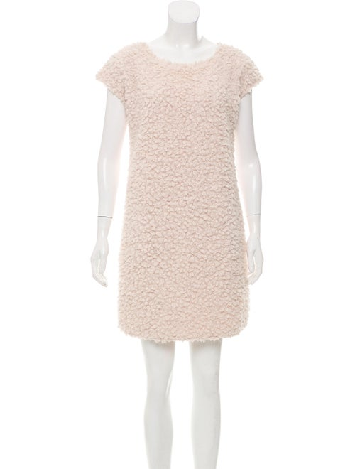 Fendi Sherpa Mini Dress