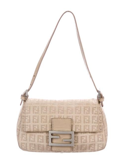 bc58e7dbd3 Fendi Zucchino Mini Mama Forever Bag - Handbags - FEN99095