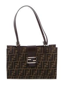 d669afa616c4 Zucchino Leather Trimmed Baguette.  445.00 · Fendi. Vintage Zucca Bag