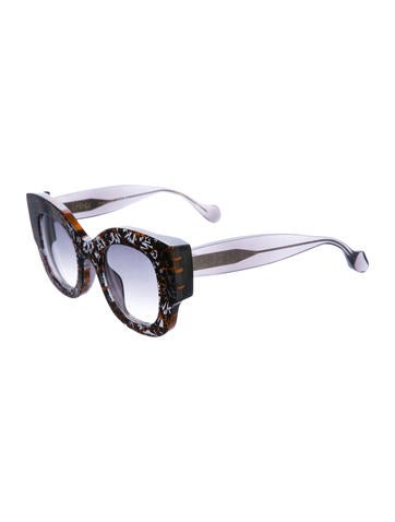 f20e5ec393d1 Fendi x Thierry Lasry. 2015 Sylvy Oversize Sunglasses