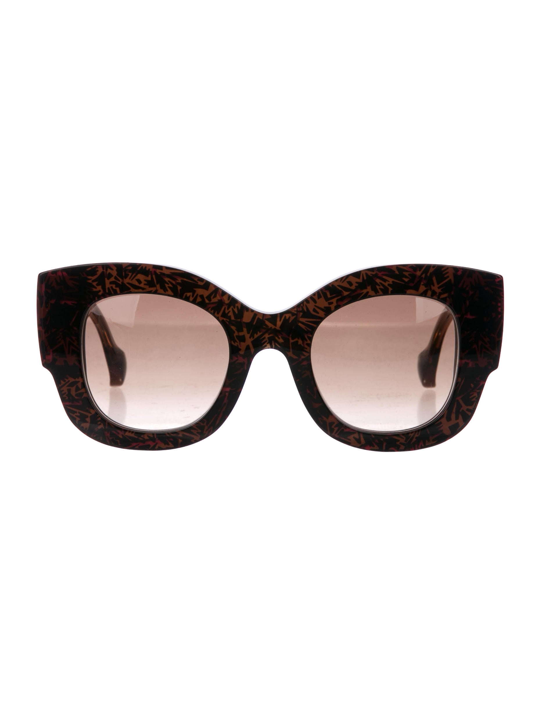 8bafffc20a9c Fendi x Thierry Lasry 2018 Sylvy Oversize Sunglasses - Accessories ...