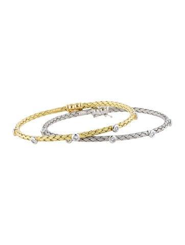 Stackable Diamond Bracelets