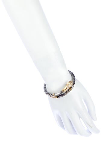 1.32ctw Diamond Snake Bangle