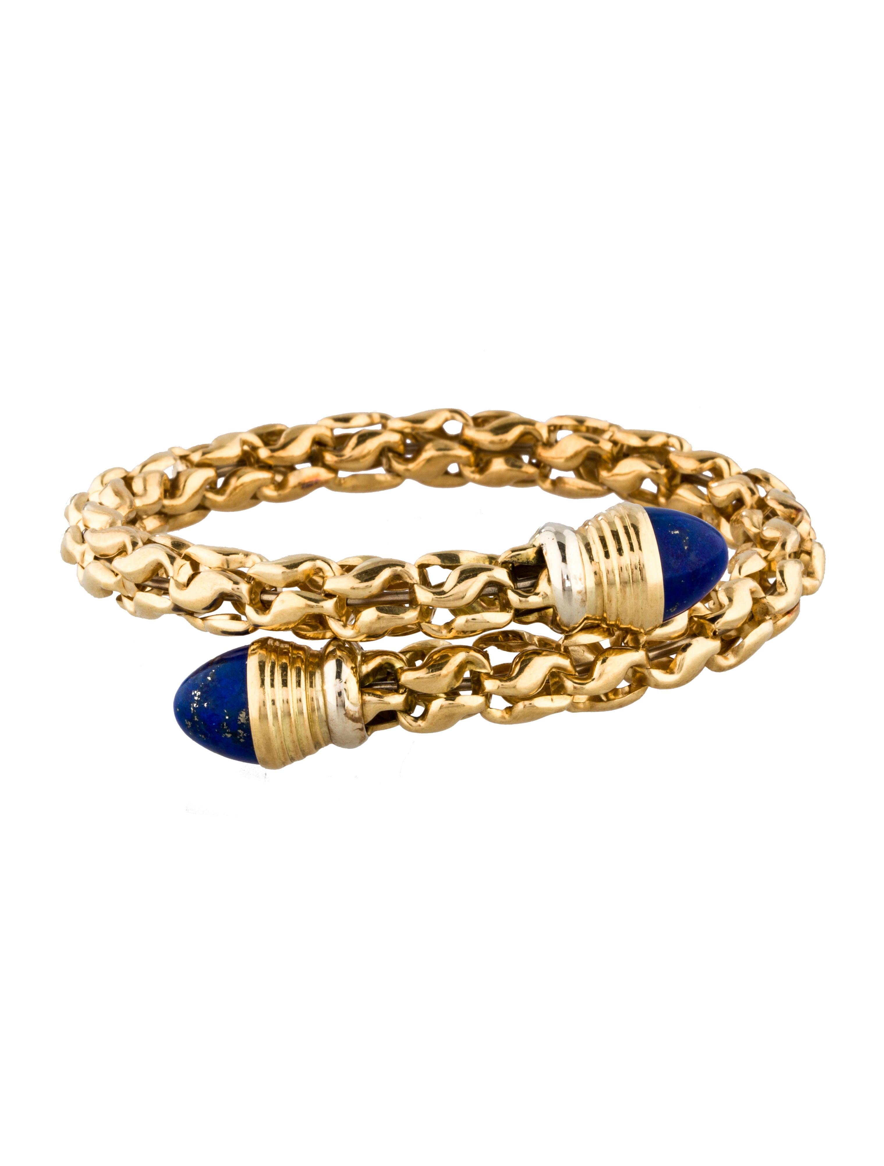 18k gold lapis bracelet bracelets fjb21536 the. Black Bedroom Furniture Sets. Home Design Ideas