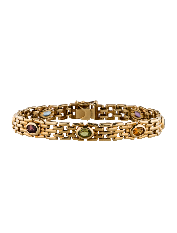 14k Multigemstone Bracelet  Bracelets  Fjb22198  The. Favorite Engagement Rings. Top Engagement Rings. Bracelet Silver. Rubber Strap Watches. Barse Bracelet. Engagement Necklace. Womens Necklace. Lucky Bracelet