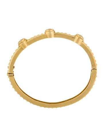 14K Diamond Bangle Bracelet