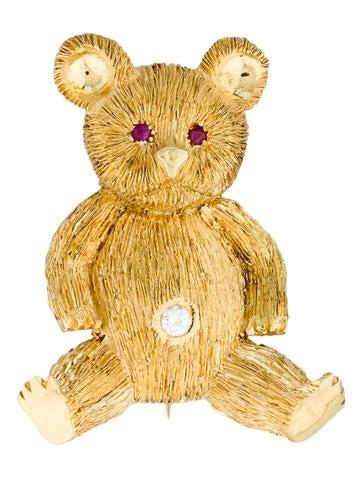 Teddy Bear Brooch