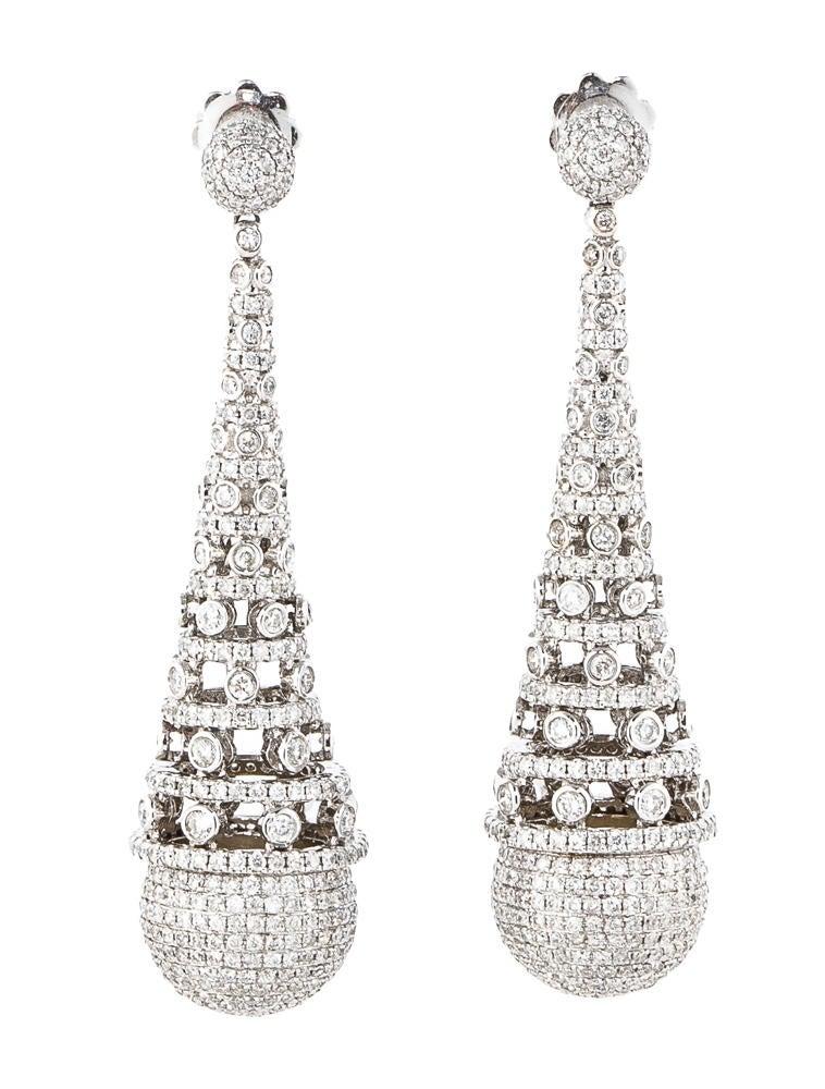 Diamond Chandelier Earrings TopEarrings – Tiffany Chandelier Earrings