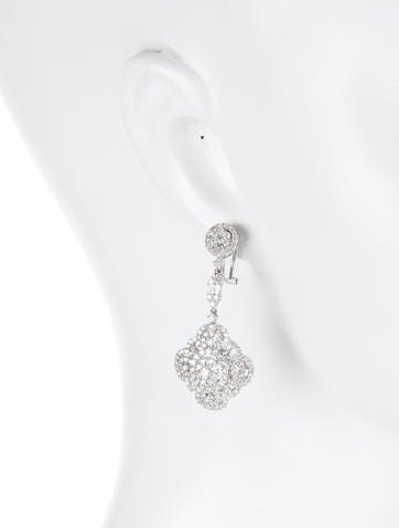 5.35ctw Diamond Dangle Earrings