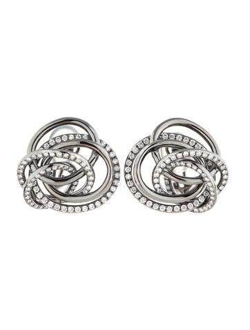 2.60ctw Diamond Galaxy Earrings