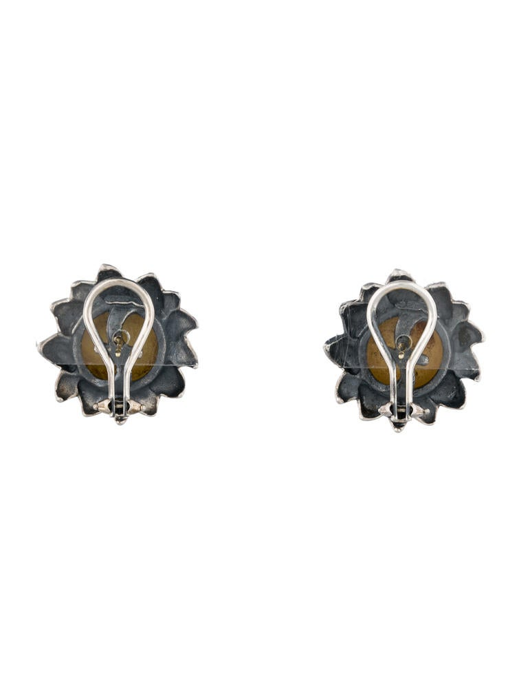 Suna Brothers Sunflower Earrings