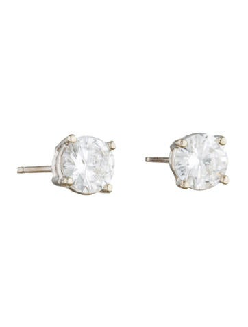 1.07ctw Diamond Stud Earrings
