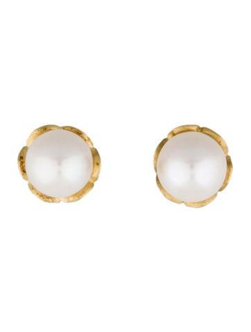 18K Akoya Pearl Earrings