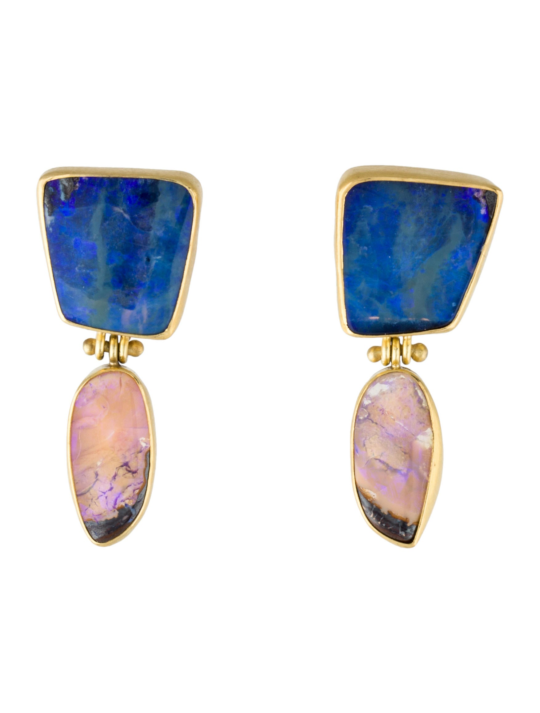 boulder opal drop earrings earrings fje28401 the