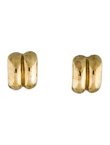 14K Clip On Earrings