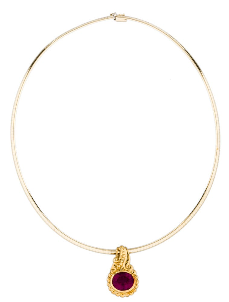 omega choker necklace necklaces fjn01547 the realreal