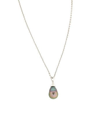 Dyed Baroque Pearl Necklace