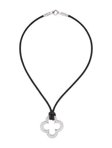 Heidi Klum for Mouawad Diamond Clover Pendant