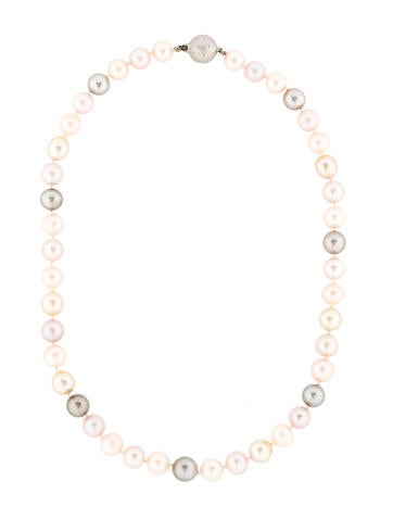 Pastel South Sea Pearl Necklace