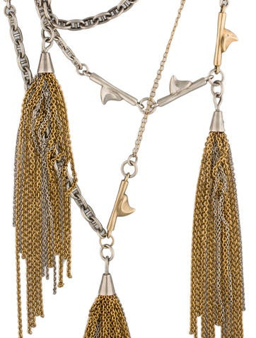 Multi-Strand Shark Tooth Necklace
