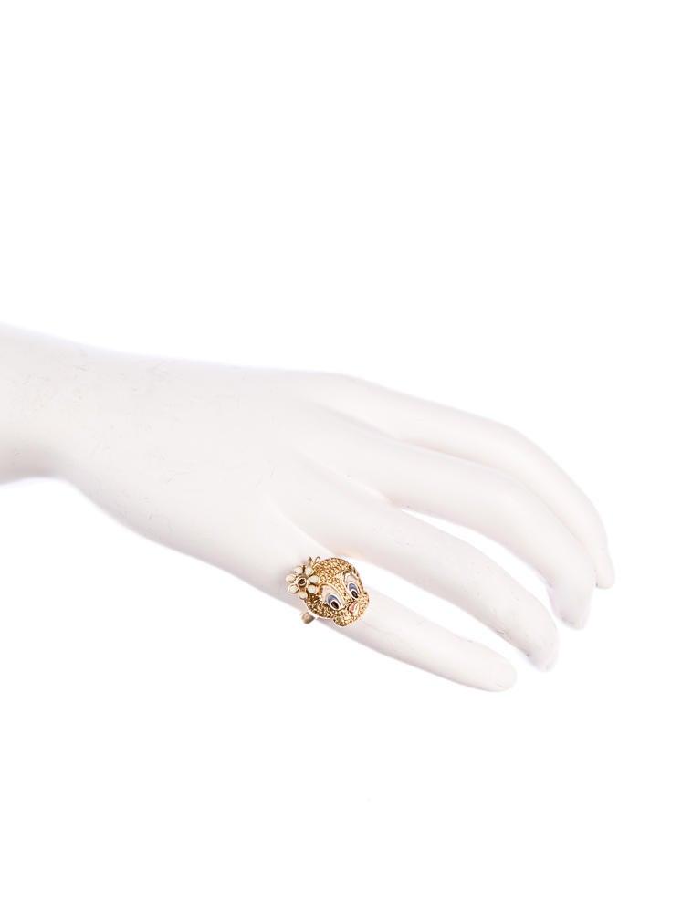Gold Tweety Bird Ring Rings FJR