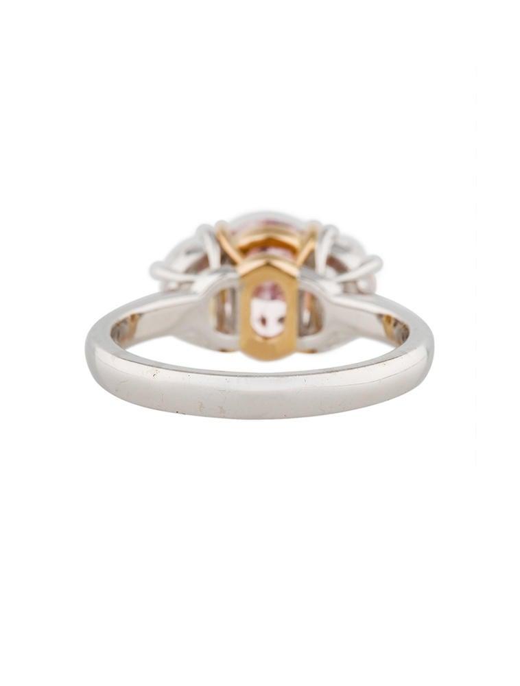 Fancy Intense Pink Diamond Ring 2 93ctw Rings Fjr10381