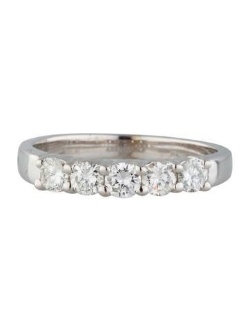 Five Stone Diamond Band 0.55ctw