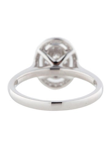 Oval Diamond Cluster Ring