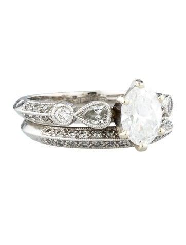 2.01ctw Diamond Wedding Ring Set